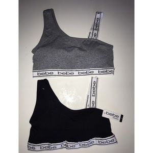 NWT Bebe Intimates Sport Bra with removable pads